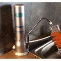 Filtre sur évier Viv'eau couleur argent